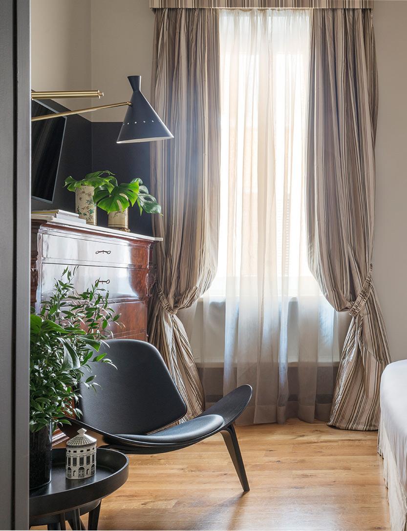Design Hotel Roma: Dettaglio Camera